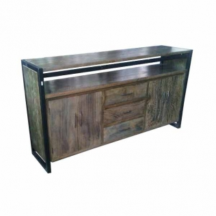 buffet-2-doors-3-drawers-iron-frame-188x45x100-grey